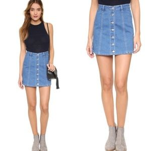 MINKPINK All I Want Denim Skirt